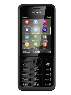 Nokia 301 Noir