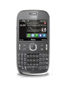 Nokia 302 Dark Grey