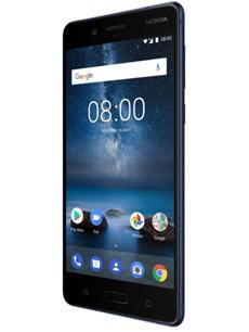 Nokia 8 Bleu trempé