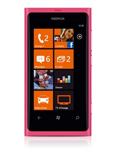 Nokia Lumia 800 Rose