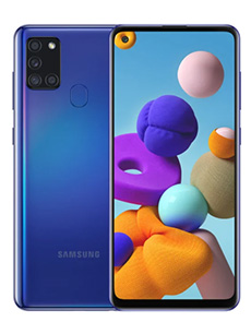 Samsung Galaxy A21s Bleu Prismatique