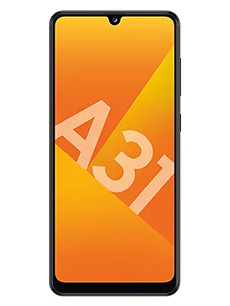 Samsung Galaxy A31 Noir