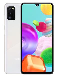Samsung Galaxy A41 Blanc Prismatique