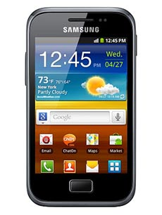 Samsung Galaxy Ace Plus Noir