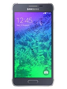 Samsung Galaxy Alpha Noir