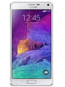 Samsung Galaxy Note 4 Reconditionn� Blanc