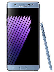 Samsung Galaxy Note 7 Bleu