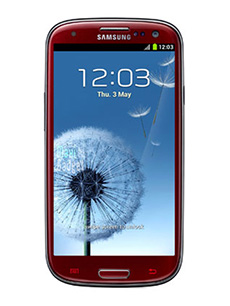 Samsung Galaxy S3 16 Go Rouge Occasion
