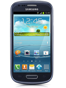 Samsung Galaxy S3 Mini Bleu