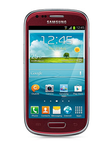 Samsung Galaxy S3 Mini Rouge