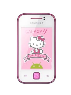 Samsung Galaxy Y Hello Kitty