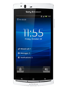 Sony Ericsson Xperia Arc S Blanc Occasion