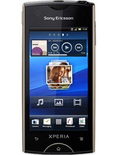 Sony Ericsson Xperia Ray Champagne