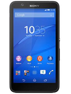 Sony Xperia E4 Noir