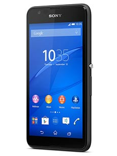 Sony Xperia E4G Noir