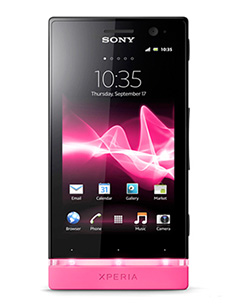 Sony Xperia P Rose