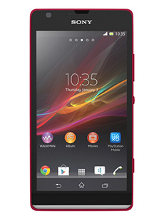 Sony Xperia SP Rouge