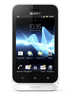 Sony Xperia tipo Blanc