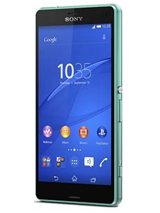 Sony Xperia Z3 Compact Turquoise