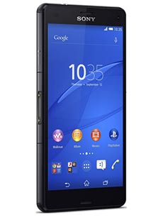 Sony Xperia Z3 Compact Noir