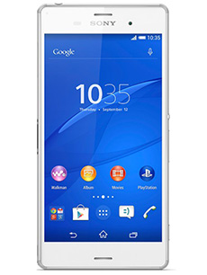 sony xperia z3 reconditionn blanc pas cher prix. Black Bedroom Furniture Sets. Home Design Ideas