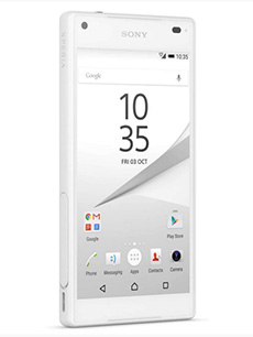 Sony Xperia Z5 Compact Blanc