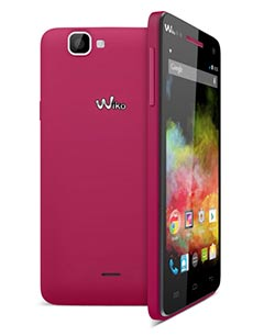 Wiko Rainbow 4G Rose