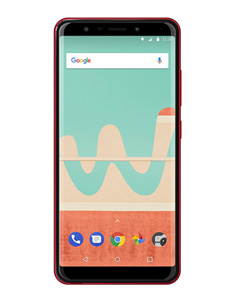 Wiko View Go Rouge