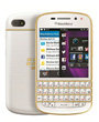 BlackBerry Q10 Blanc Or