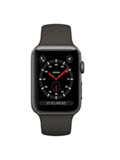 Apple Watch 3 GPS Alu 38mm Bracelet Sport Noir