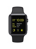 Apple Watch Sport Aluminium 42mm Noir
