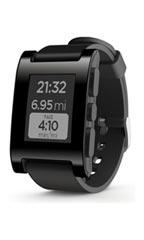 Pebble Smart Watch Noir