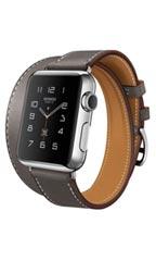 Montre Apple Watch Hermès Double Tour 38mm Gris