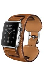 Montre Apple Watch Hermès Manchette 42mm Marron