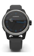 Montre Cookoo Watch Noir et Argent