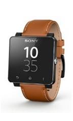 Montre Sony SmartWatch 2 Cuir Marron