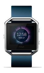 Montre FitBit Blaze Bracelet Classique Small Bleu