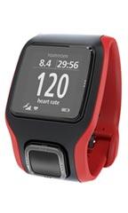 Montre TomTom Runner 2 Cardio Rouge et noir