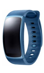 Montre Samsung Gear Fit 2 L Bleu