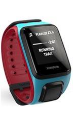 Montre TomTom Runner 2 Cardio + Music Bleu et Rouge