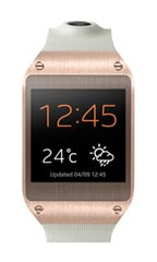 Montre Samsung Galaxy Gear Rose et Or