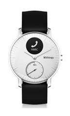 Montre Withings Steel HR 36mm Blanc