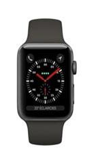 Apple Watch 3 GPS Alu 38mm Bracelet Sport Noir