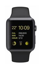 Montre Apple Watch Sport Aluminium 42mm Noir