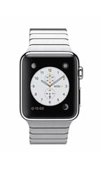 Montre Apple Watch Acier 38mm Bracelet à Maillons Gris