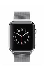 Montre Apple Watch Acier 38mm Bracelet Milanais Gris