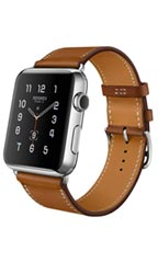 Montre Apple Watch Hermès Simple Tour 38mm Marron