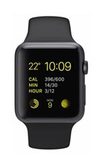 Montre Apple Watch Sport Aluminium 42mm Noir