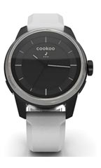 Montre Cookoo Watch Blanc et Argent
