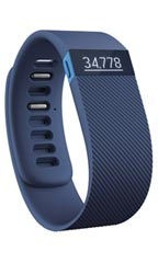 Montre FitBit Charge HR L Bleu